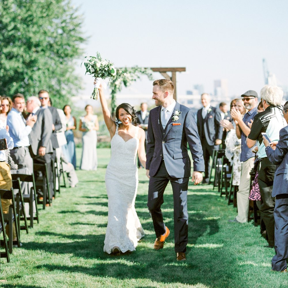 Portland Wedding at Daimler Trucks HQ -