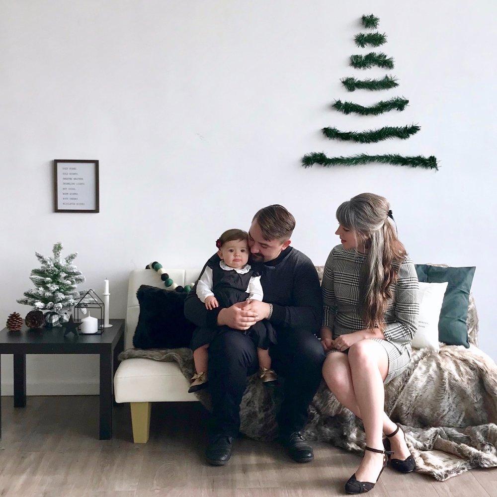 Nordic Christmas Mini Session & Colorful Cake Smash -