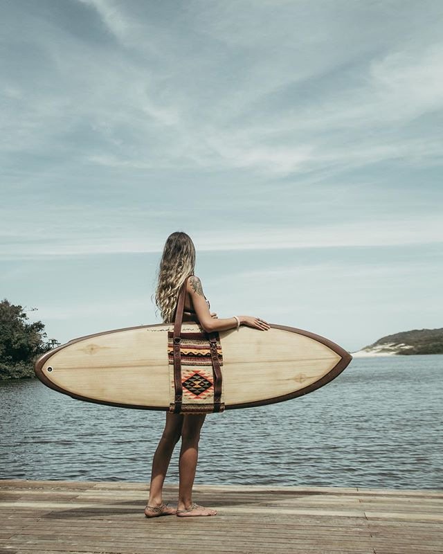 Exploring Brasil... #saltfishsurfco #explore #brasil #praiadorosa #slingbag #handmade #fodane 📷: @luizeduarrdo