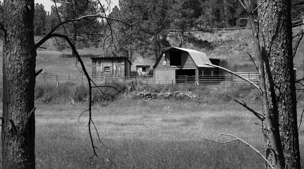 Ranch on Mickelson Trail, S.D.