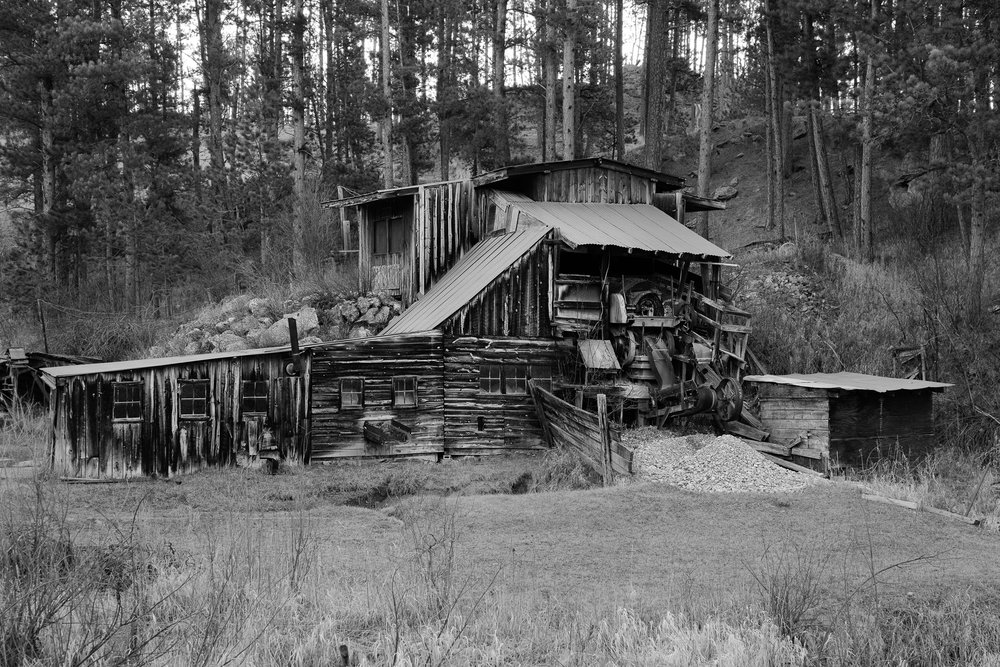 Wade's Gold Mill, Hill City, S.D.