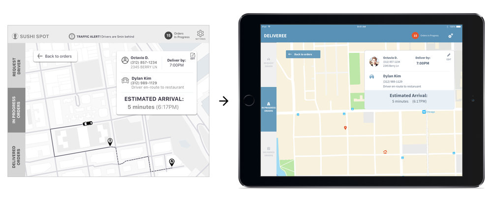 ipad apps for delivery drivers