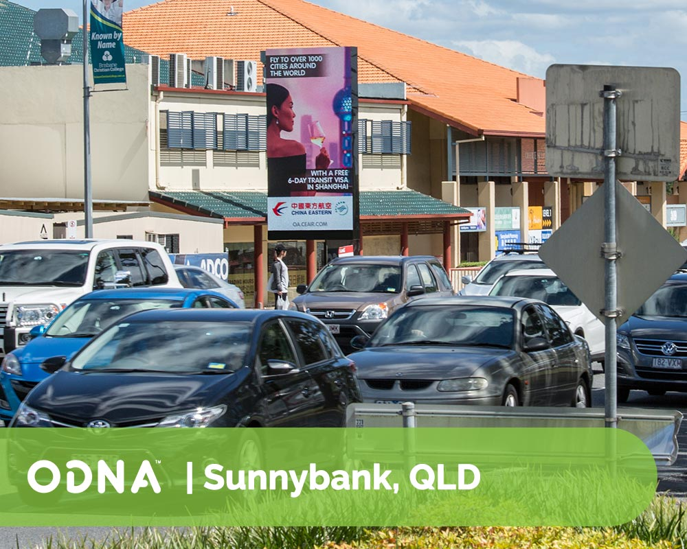 ODNA Digital Out of Home Sunnybank Billboard