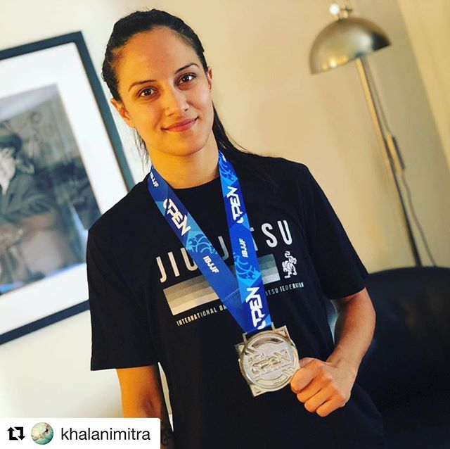 Congratulations to one of the most talented female stunt performers around. #Repost @khalanimitra with @get_repost ・・・ Not the outcome I wanted but I defiantly improved a lot! I'm proud of myself for putting myself out there and challenging myself. Thank you to my friends for all your support and my @alliancevancouver family for coaching me and having my back. Also, thank you @iheartcupcake for the tips! It was so nice having another BJJ mom there cheering me on. ❤️❤️ I will fly higher next time. OSS. 👊🏽🤙🏽 #alliance #ibjjf #ibjjfseattleopen2018 #yvr #bjj #bjjlifestyle