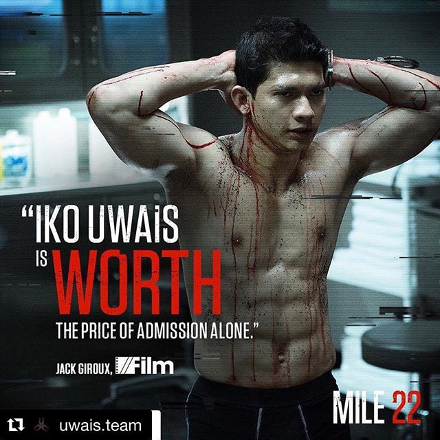 #Repost @uwais.team with @get_repost ・・・ #Repost @mile22movie with @get_repost ・・・ See what all the hype is about. @Iko.Uwais stars in #Mile22 - now playIng in theaters.