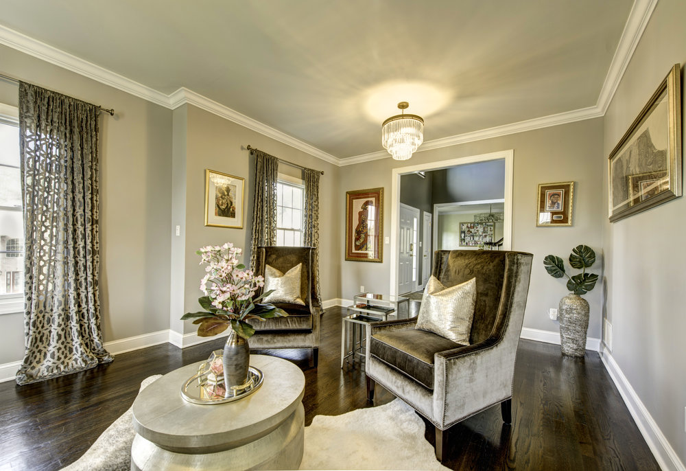Luxury Living Room Interior Design   West Orange , NJ