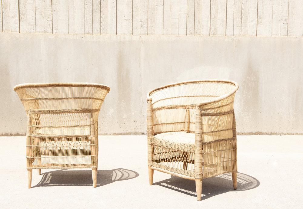 Genial Malawi Cane Woven Chair