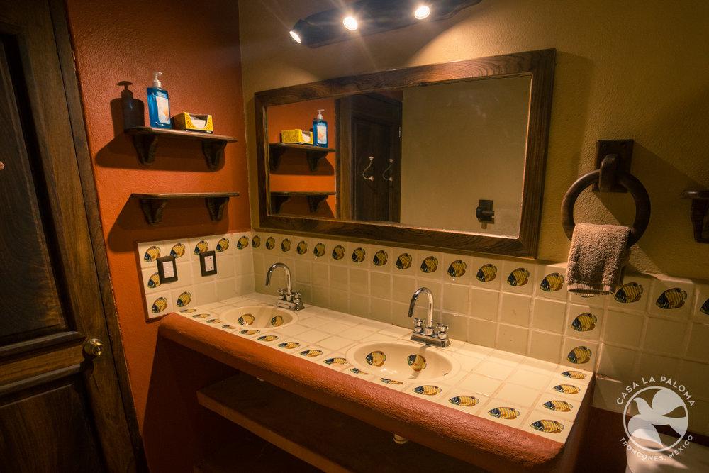 Fish bathroom!