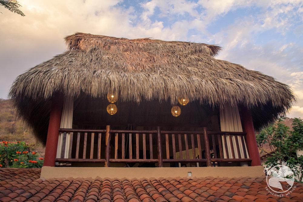 Second level palapa retreat