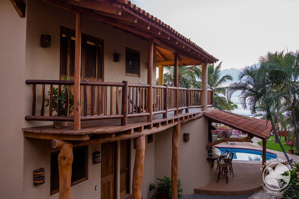El balcón desde el otro lado