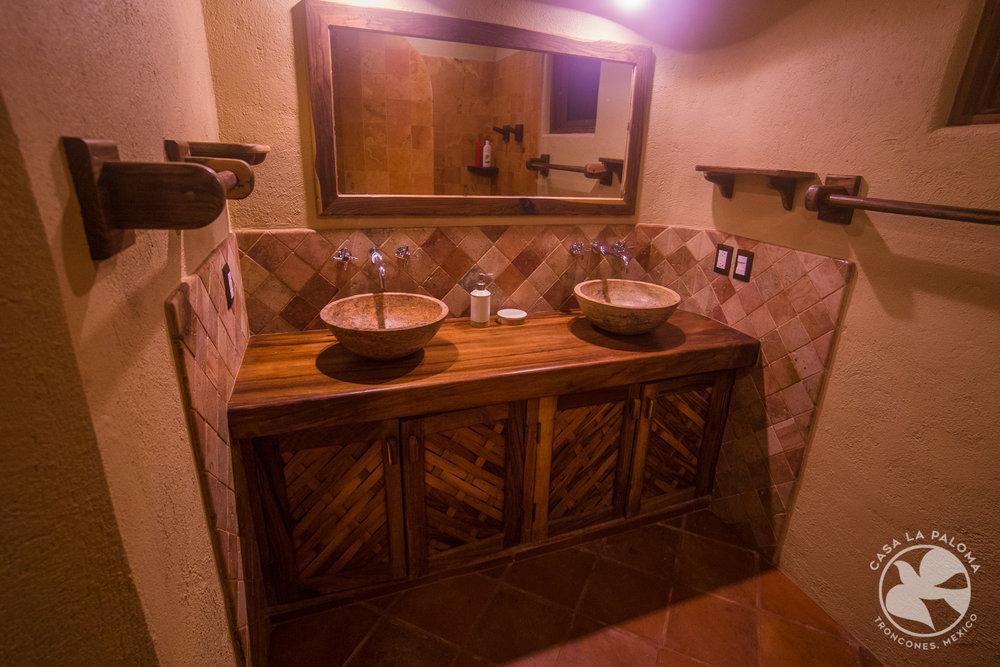 Doble lavabos en el baño principal