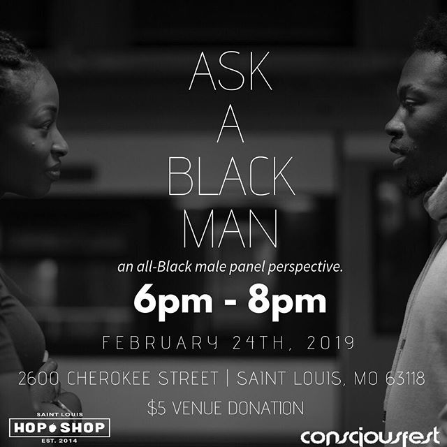 What if we gave you a chance to ask 6 of the most intellectually and responsible Black men in St. Louis anything. What would you ask em? #askablackman