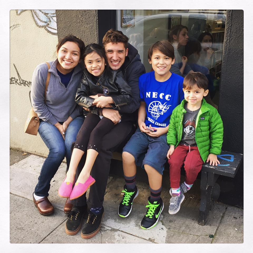 Our five kids in 2017