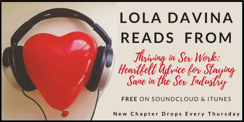 Listen for FREE! Lola reads selected chapters-- new every Thursday! -