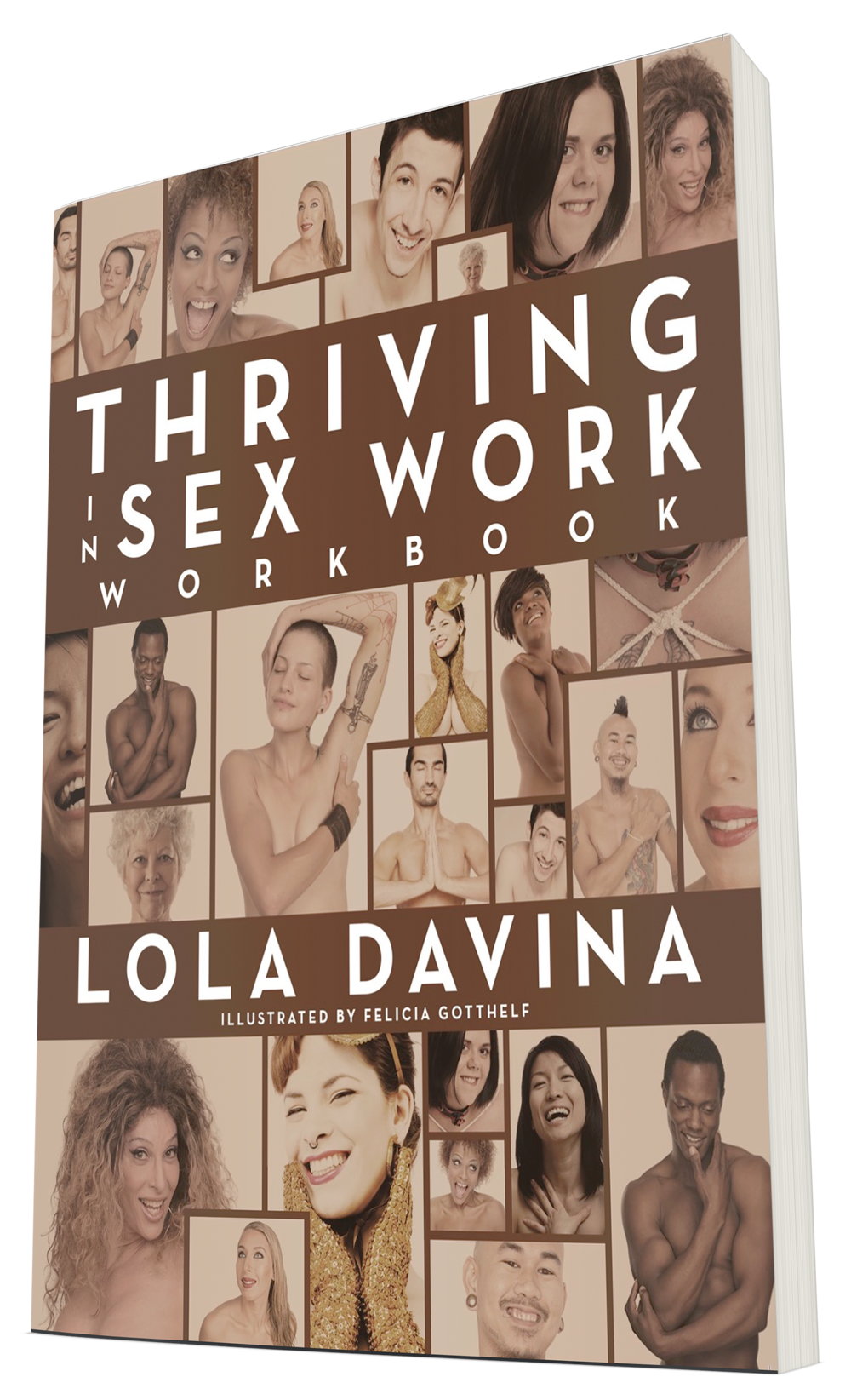 Thriving in Sex Work Workbook ; Design by Albert Ochosa.