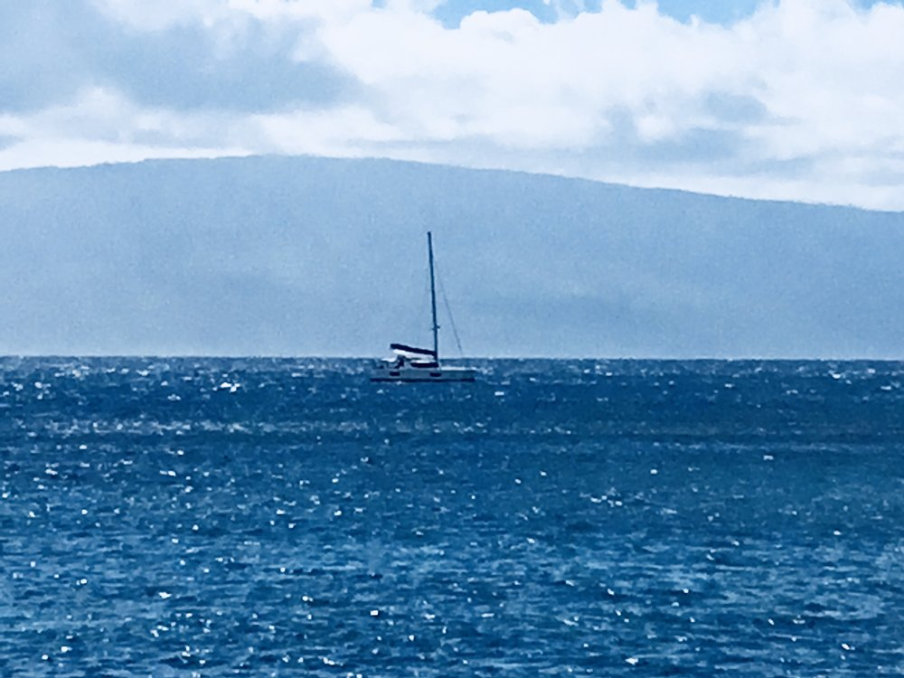 View from the Lahaina Yacht Club