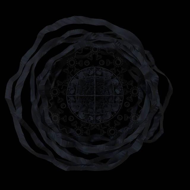 Dark on Dark _ = _ = _ = #cinema4d #render #black #3d #design #abstract  #sss#geometricpattern etricpattern#vibes #ضلام #زخرفه #اشوفك #مستخبي