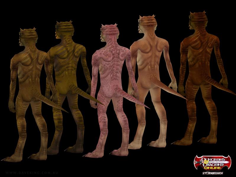 Kobold skin prototypes