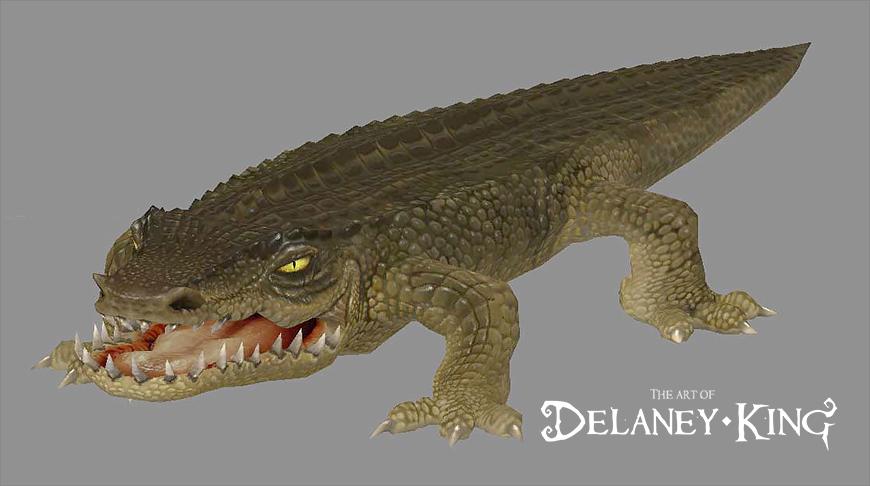 Blocky Croc