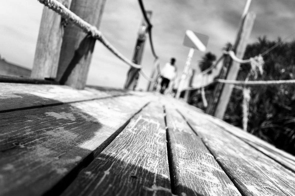 Footbridge - Redang Island, August 2010