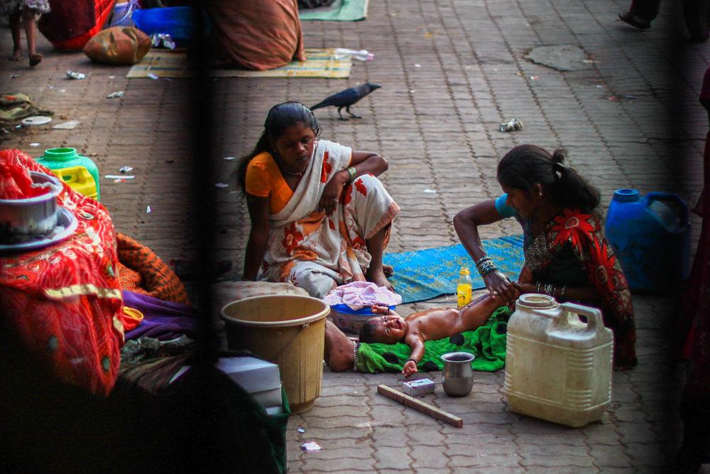 Grant Road Station - Mumbai, February 2011