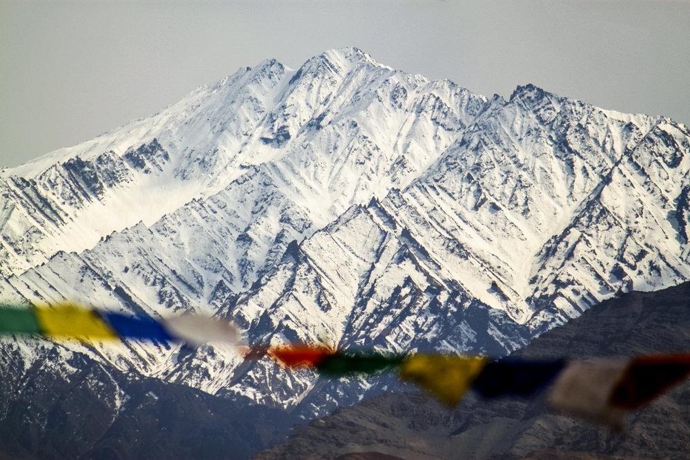Prayer flags - Ladakh, May 2010