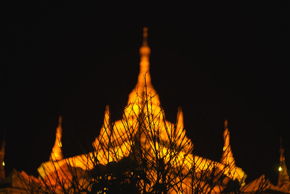Golden Pagoda - Namsai, January 2016
