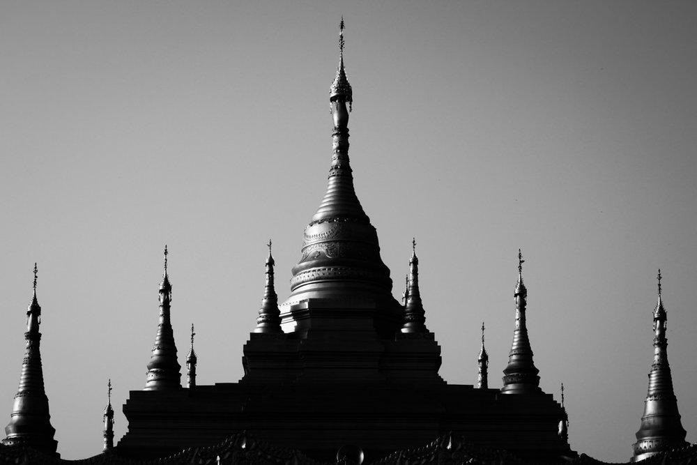 Golden Pagoda - Namsai, May 2012