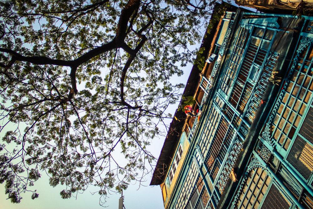 Colonial building, Kolkata, November 2010