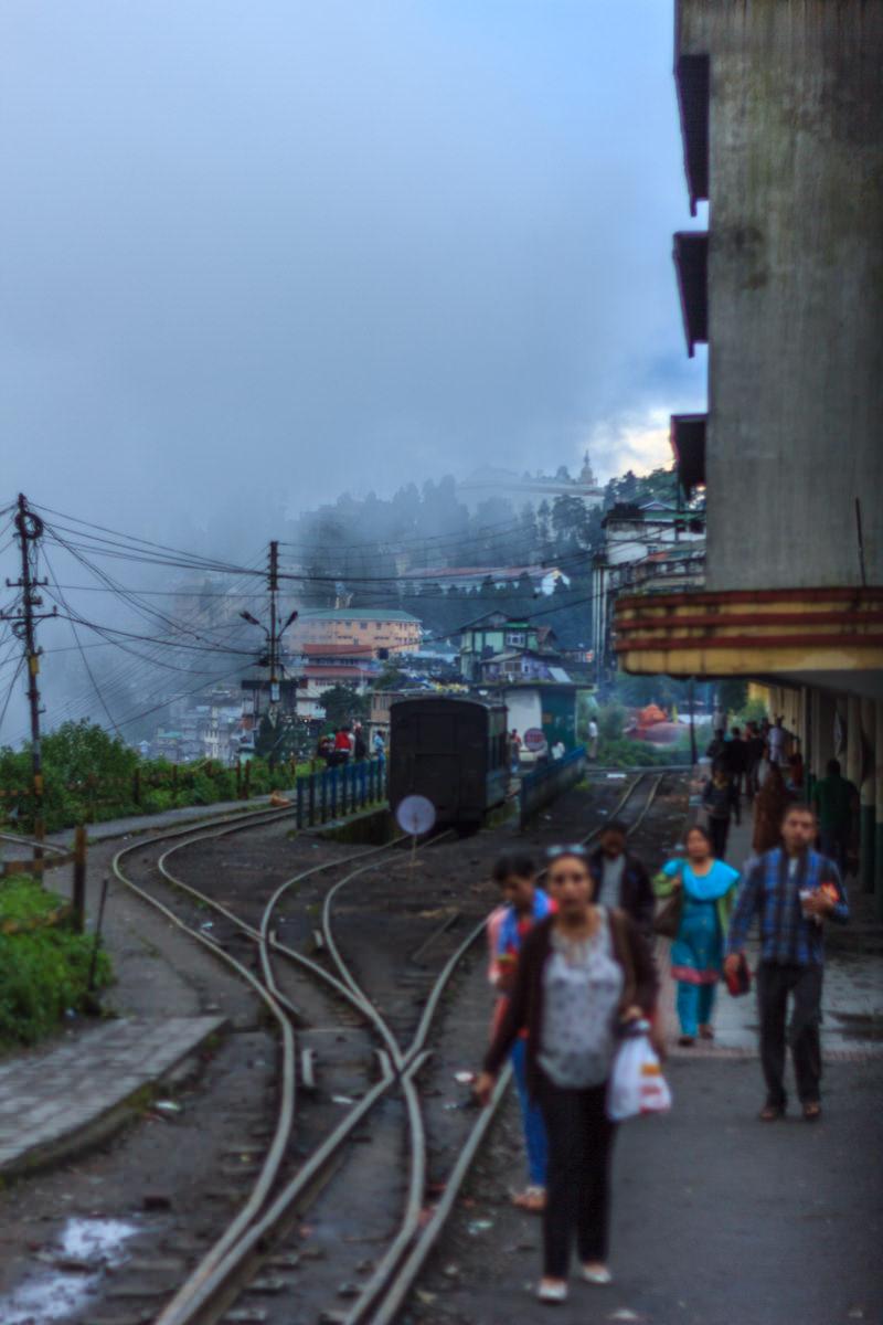 Ghum Station - Darjeeling, August 2014