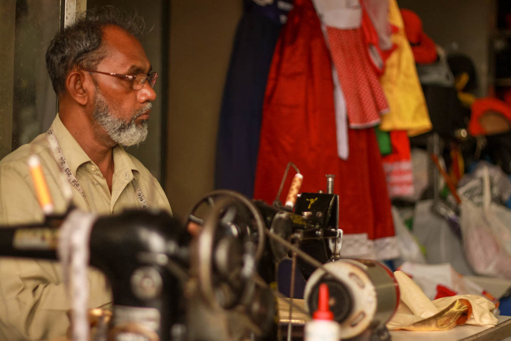 Tailor at Maganlal - Marine Drive, August 2011