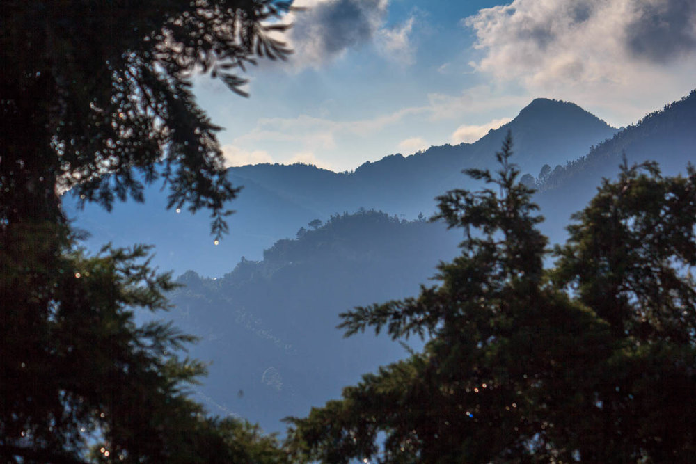 Mussoorie hills, September 2014