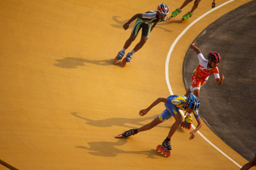 Partho Gupte's 'Arjun' skates to victory
