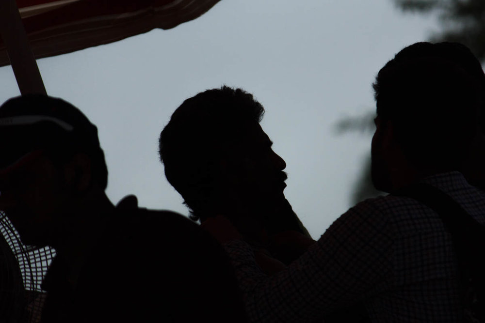 Makrand Deshpande, a moment of shade