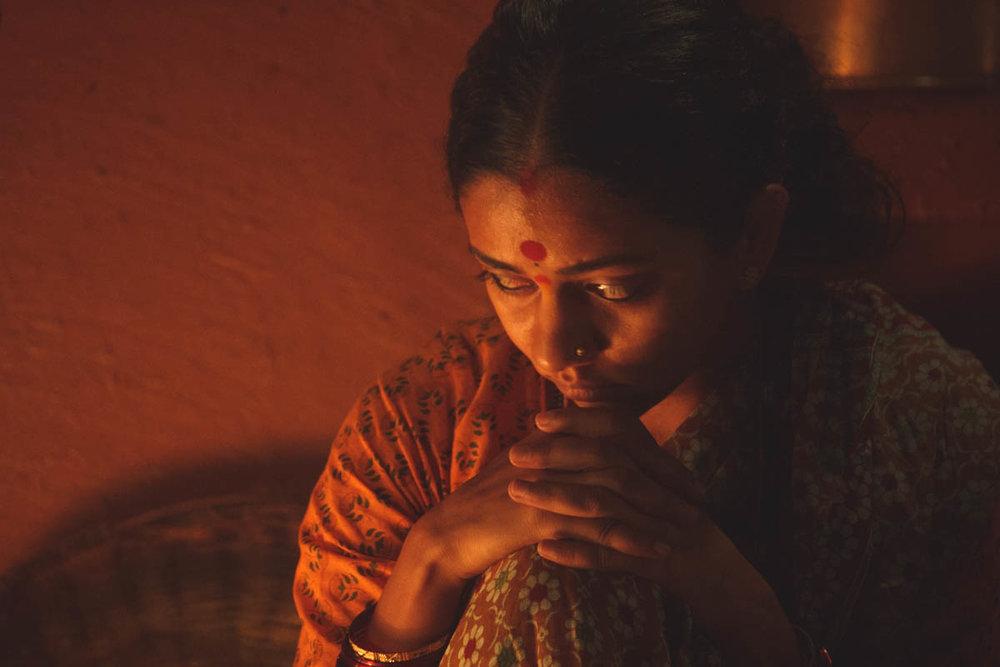 Neha Joshi masterfully lit by DP Vikas Sivaraman