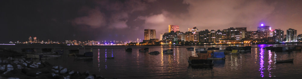 Nariman Point from Cuffe Parade, June 2012