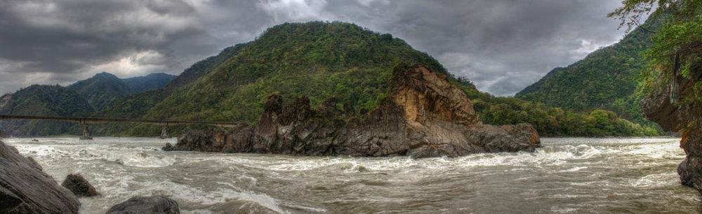Lohit River, Parsuram Kund, April 2012