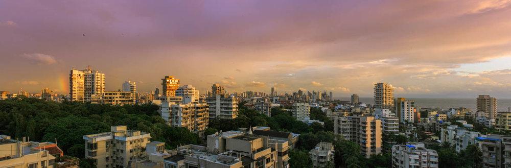 Monsoon skies, Bandra - Mumbai, September 2012