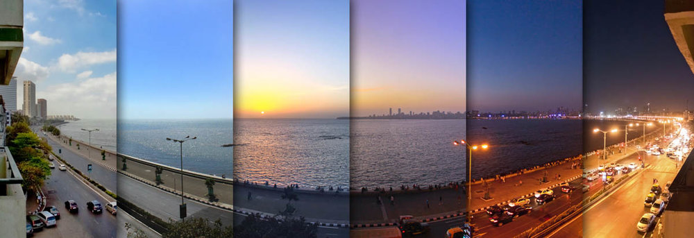 A Day Shifts - Marine Drive, March 2012