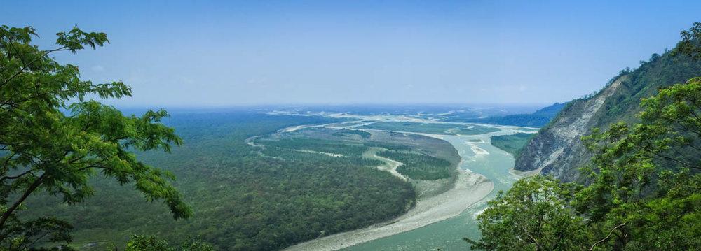 Lohit River near Parsuram Kund, May 2012