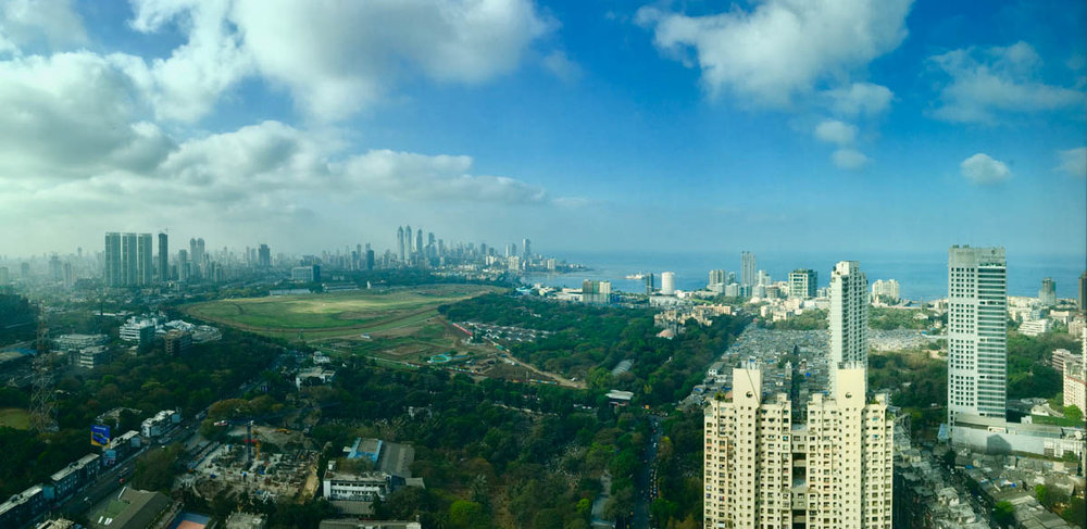 Looking South from Lower Parel, February 2017
