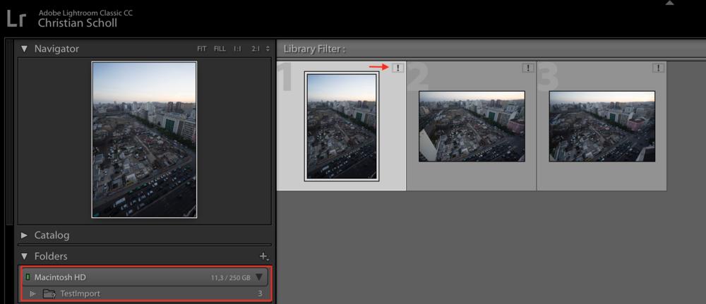 Adobe Lightroom missing Folder / Images
