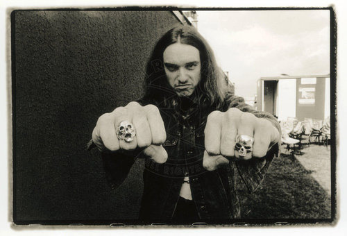 Cliff Burton Donington 1985 Ross Halfin Photography