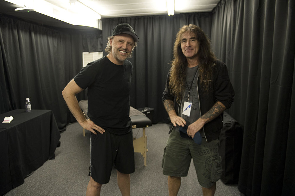 Lars & Steve Harris in Quebec