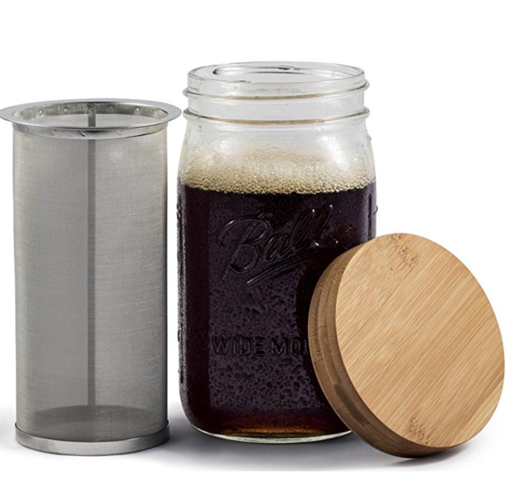 Mason Jar Cold Brew System