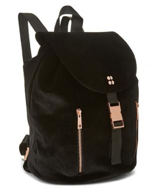 Sweaty Betty Velvet Backpack