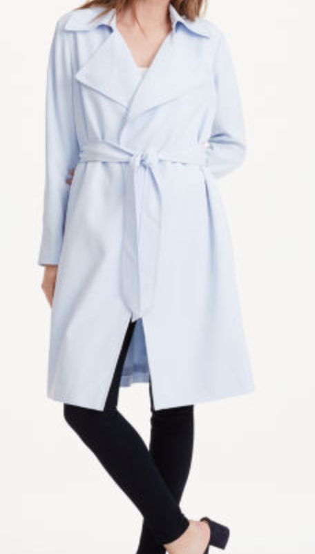 Club Monaco is always classic, always classy and timeless.  I am so excited that  they have a bunch on sale  but its also an extra 30% off!  YAS.  I am stoked to wear this baby blue jacket alllll spring.