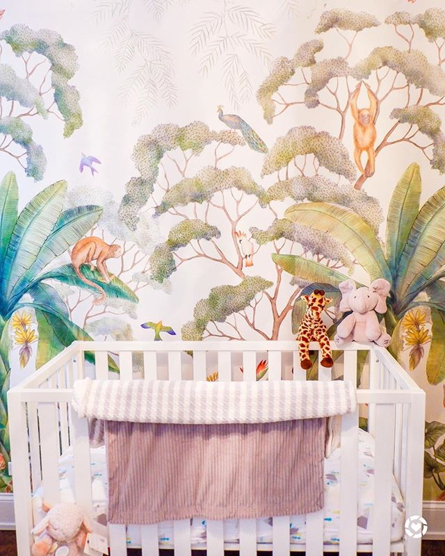 So excited to share photos of the Nursery on s+s tonight! This has been such a labor of love and I just get so excited every time I walk past the room - thinking about all the time we will spend with our son in there! Such a heart warming project ❤️👶🏻 Hope you all enjoy -- Plus our crib and chandelier are both on sale with promo codes! Visit my blog or get the @liketoknow.it app for stoppable links right to the products! #BabyStreppa