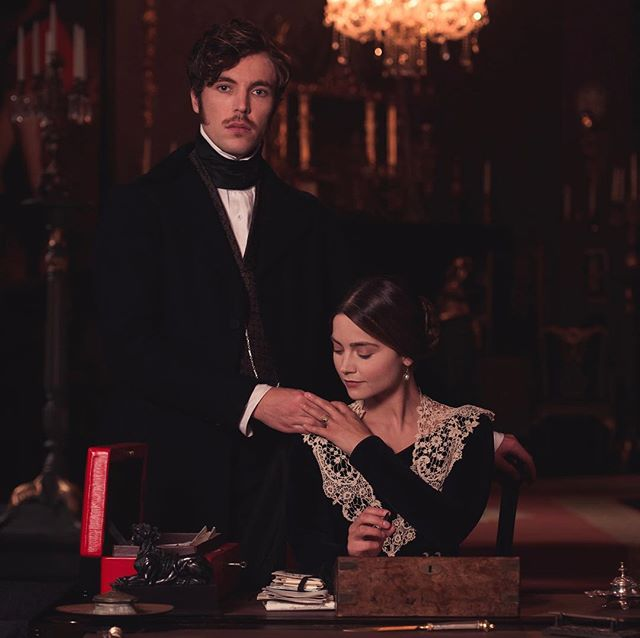 It has always been a pleasure to work alongside some of the world's leading film and television productions. Most recently we were thrilled to support @ITV Drama and Mammoth Screens with the production of the tremendous drama television series Victoria.  The production was created by Daisy Goodwin and stars @Jenna_Coleman_ as Queen Victoria who can be seen here with an exact replica of Queen Victoria's despatch box, made by Barrow Hepburn & Gale. Our research and production team recreated this from images and drawings in our archive.  #itvvictoria #barrowhepburngale #jennacoleman #despatchbox #queenvictoria #itv