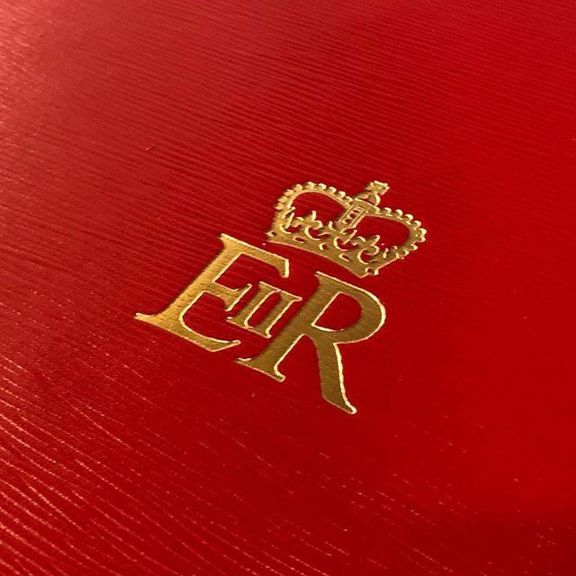 The Royal Cypher #eiir #despatchbox #madeinengland